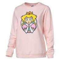 NINTENDO Sweat Princesse Peach Rose Femme