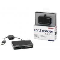 MD018 63-en-1 lecteur de carte noir