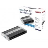 """Boîtier pour disque dur 3.5"""" SATA USB 3.0"""