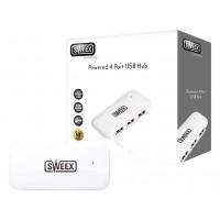 Hub actionné d'USB de 4 ports