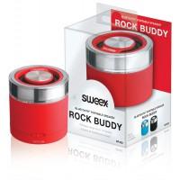 Bluetooth Portable Haut parleur Rock rouge amis