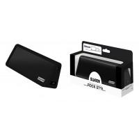 Haut parleur stéréo portable Bluetooth Rock Star Noir