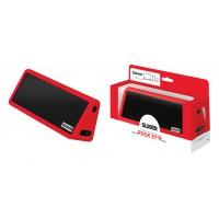 Haut parleur stéréo portable bluetooth Rock Star Red