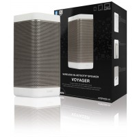 Haut-parleur Bluetooth sans fil blanc