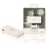 Lecteur de carte USB blanc - Pisa