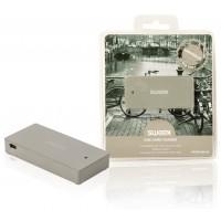 Lecteur de carte USB gris