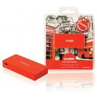 Lecteur de carte USB rouge Londres