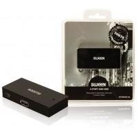 Concentrateur USB 4ports noir Tokyo