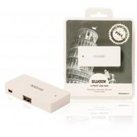 Hub USB 4ports blanc Pisa