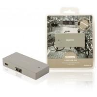 Moyeu USB 4ports gris Amsterdam