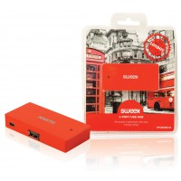 Hub USB 4 ports rouge London