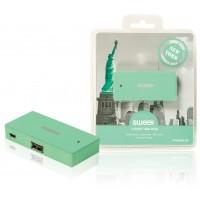 Hub 4 ports USB Vert New York