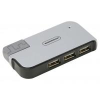 Concentrateur 4 ports USB 2.0 pour Ordinateur Portable