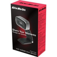 AVERMEDIA Webcam Full HD Autofocus Plug and Play PW310O