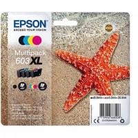 EPSON Cartouche d'encre Multipack 4 couleurs 603XL Ink - Noir, Cyan, Magenta, Jaune