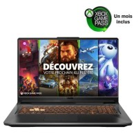 ASUS PC Portable Gamer TUF706IU-H7012T 17,3'' FHD 120Hz - Ryzen 7-4800HS - RAM 16Go - GTX 1660Ti 6Go - Stockage 512Go SSD - Win