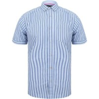 Chemise homme rayée manches M