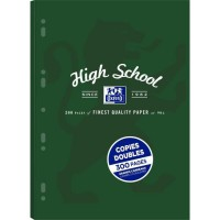 COPIES DOUBLES OXFORD HIGH SCHOOL PERFORE A4 ETUI 300P 90G SEYES