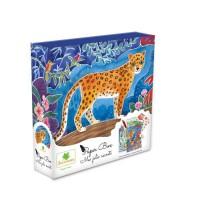 SYCOMORE - Paper Box - Kit de papeterie pour enfants - Mes jolies secrets - Jungle - Petit Modele - Des 7 ans