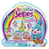 PACK DE 4 Rainbow Jellies - 6056248 - Coffret création 25surprises pour créer des personnages personnalisés, Pour enfants 6 ans