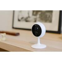 EZVIZ C1C 1080P Caméra Surveillance Wifi Intérieure - Vision nocturne - 130 ° Grand angle