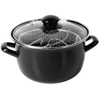 Crealys Friteuse - 511306 - Ø20Cm Emaille Induction