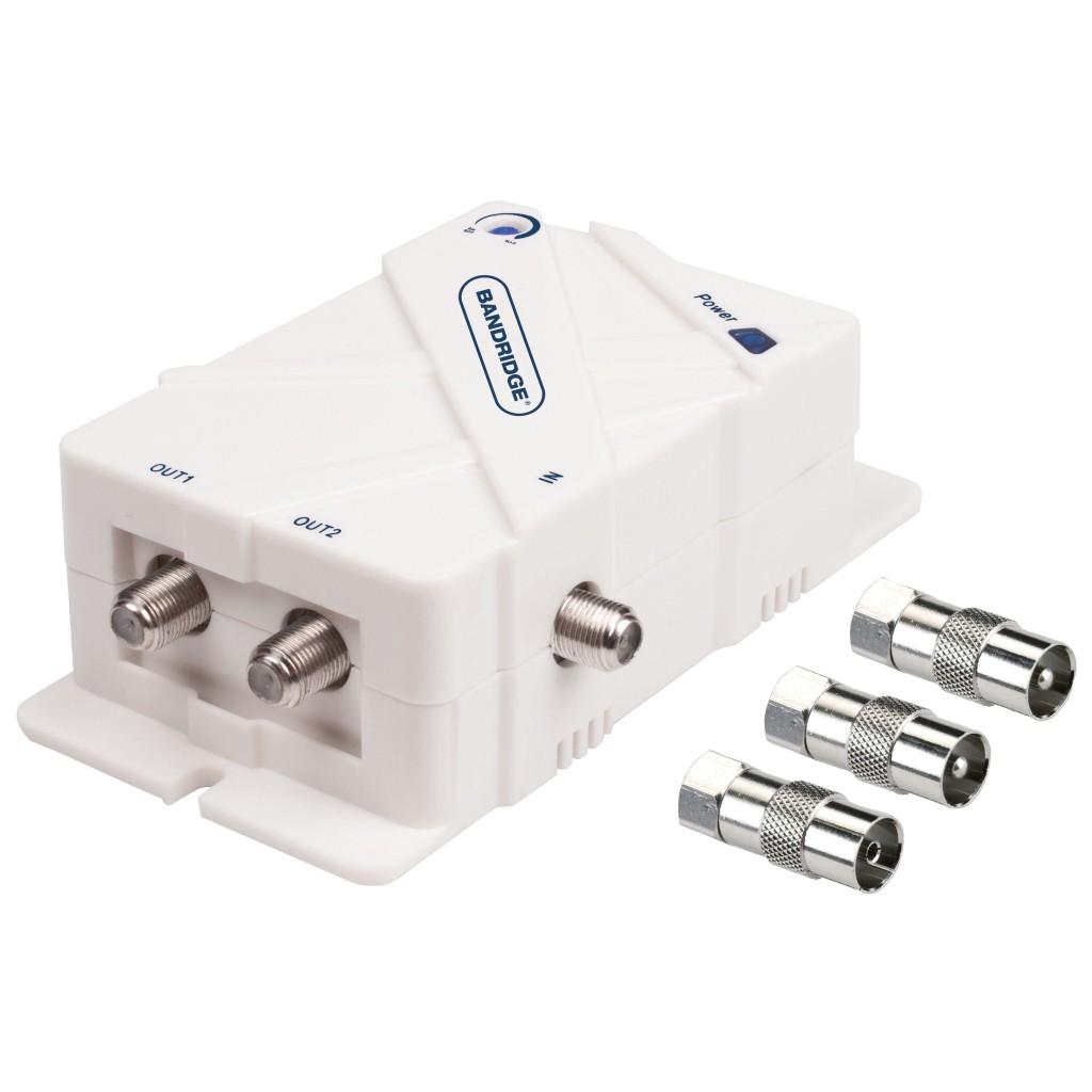 39489 amplificateur d 39 antenne deux voies amplificateur d. Black Bedroom Furniture Sets. Home Design Ideas