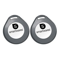 SMARTWARES Kit 2 badges NFC pour alarme NFC SA78T/2