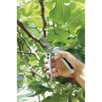 GREENGERS Sécateur de jardin en aluminium et acier - 180 mm
