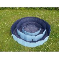 ROSEWOOD Piscine pliable de refroidissement L - 160 x 30 cm - Bleu - Pour chien