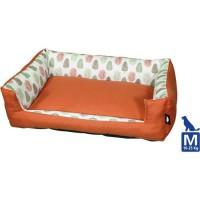AIME Panier pour Moyen et Grand Chien, Collection Sweet Tropical, Taille M 70X55CMcm, Coussin Rembourré Ultra Confortable Design