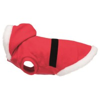 TRIXIE Manteau Xmas Santa - S: 35 cm - Rouge - Pour chien