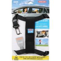 ZOLUX Harnais de sécurité avec attache pour véhicule M - Pour chien