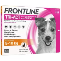 FRONTLINE TRI-ACT 5-10kg - 3 pipettes