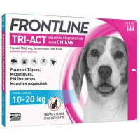 FRONTLINE TRI-ACT 10-20kg - 3 pipettes