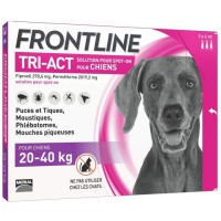 FRONTLINE TRI-ACT 20-40kg - 3 pipettes