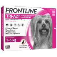 FRONTLINE TRI-ACT 2-5kg - 6 pipettes