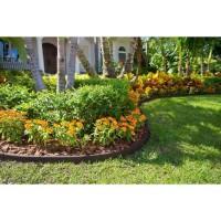 JANY FRANCE Bordure de jardin flexible - L 1,22 m - Marron