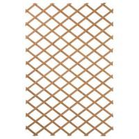 NATURE Treillis extensible en bois naturel 100x300cm - Marron
