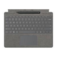 Microsoft Surface Madina - Ensemble Clavier et Stylet pour Surface Pro X - Anthracite