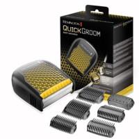 REMINGTON Tondeuse corps ergonomique QuickGroom - Lame acier inoxydable 60% plus large