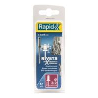 RAPID Rivets inoxydables 3,2x8mm
