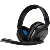 ASTRO Casque Gaming A10 Noir et Bleu - Compatible PS4