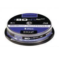 Blu-ray BD-R 4x25 GB Cakebox 5 pièces