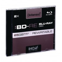 Blu-ray réinscriptible BD-RE 2x25 GB etui précieu 5 pcs