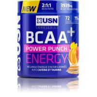 USN Boisson BCAA Power Punch Energy - Orange Mangue - 400 g