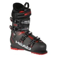 HEAD Chaussures de ski ADVANT EDGE 85 - Enfant - Rouge et Noir
