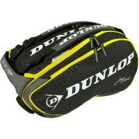 DUNLOP Sac pour raquette de Padel Paletero Elite Mieres - Noir et jaune