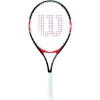 WILSON Raquette de tennis Federer 25 - Junior - Noir et rouge