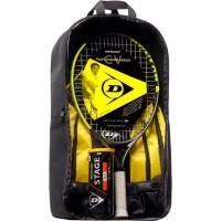 DUNLOP - Kit de tennis Junior CV Team 23 - Raquette/Sac a dos/ Balles